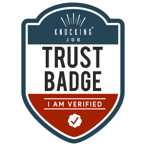 Trust Badge - Build your online reputation with Knocking Job